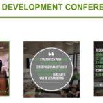 Afbeelding van presentatie tijdens GEA development Conference